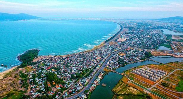 Ảnh phối cảnh KĐT The One Beach do Eco Real làm đơn vị phát triển dự án.